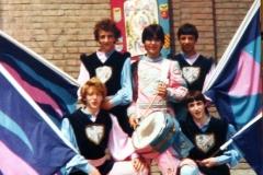 Sbandieratori anno 1979